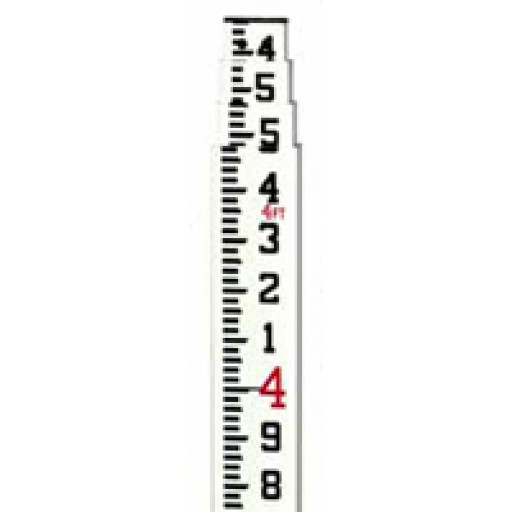 CR - 5.0M Leveling Rod Philly Metric - 4 Section