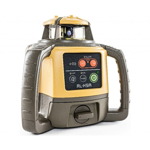 Topcon RL-H5A with Rechargeable Batteries and RL-80L