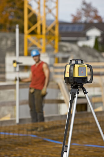 Leica Rugby 610 construction laser
