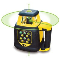 Site Pro SLR200HV-G Horizontal and Vertical Self Leveling Rotary Green Beam Laser