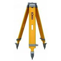 Sokkia Wood Wide Frame Extension Leg Tripod - Heavy Duty 45 - 72 iinches- Yellow