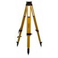 Sokkia Wood Fiberglass Tripod with Twist Lock - 42 in - 70 in.
