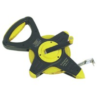 PVC Coated Fiberglass Measuring Tape - 100ft. Tape in Inches/8ths. of a Foot