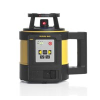Leica Rugby 840 General Construction Laser with RE 180 Digital RF Receiver, RC400 Remote and Li-ion Rechargeable Battery