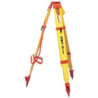 "Tripod - 5/8 x 11, 42"" - 72"" - Heavy Duty Wood/Fiberglass W/Snap Clamps"