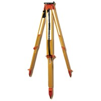 Premier Heavy-Duty Wood Tripod with Round Head and Twisting Lock Legs