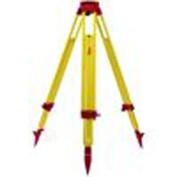 GST120-9 - Sturdy wooden tripod, ext. leg, 6 ft. long, w/ auto-locking leg mech