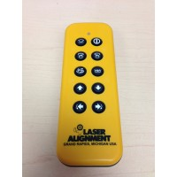 Laser Alignment RF Remote Control - For LB-9 Laser + Grabber