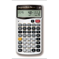 Construction Master Pro - Advanced Feet-Inch-Fraction Construction-Math Calculator
