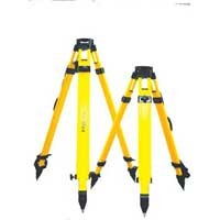 Tri-Max Certified Laser and Instrument Tripod - Tall Heavy Duty Fiberglass W/Screw Clamp