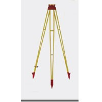 Leica GST40 Wood Tripod - Fixed leg, 5.5ft. long, including plastic cap