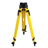 1-WDF20-DCB DUAL CLAMP WOOD/FIBERGLASS HEAVY DUTY TRIPOD -
