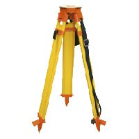 Surveyors Grade Wooden Tripod - with Quick Clamp Click-it System