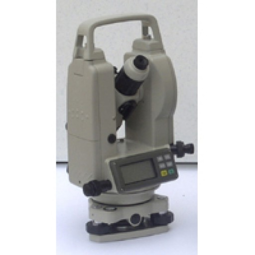 Futtura 10 Sec. Theodolite - Transit/Theodolite Comes with Both Alkaline Batteries and Nicad