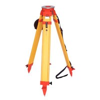 Nedo Surveyors Grade Wooden Tripod with Dual Clamp