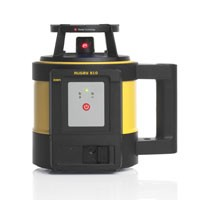 Leica Rugby 810 Laser Level with Rod Eye 160 and A-800 Li-ion Battery